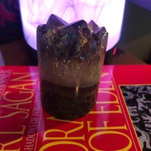 Decorative amethyst ceystal